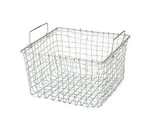Vintage Wire Basket Shabby White Mesh Storage Container Industrial Country Style