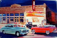 The Last Picture Show Jack Schmitt Retro Automotive Classic Metal Sign