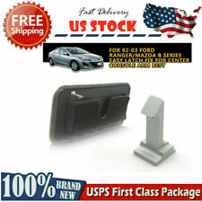 Silver Center Console Arm Rest Latch Fix For 92 03 Ford Ranger Mazda B Series Fits Mazda
