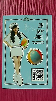 OH MY GIRL BINNIE Official PHOTOCARD SUMMER ITEM Special Album LISTEN TO ME 비니