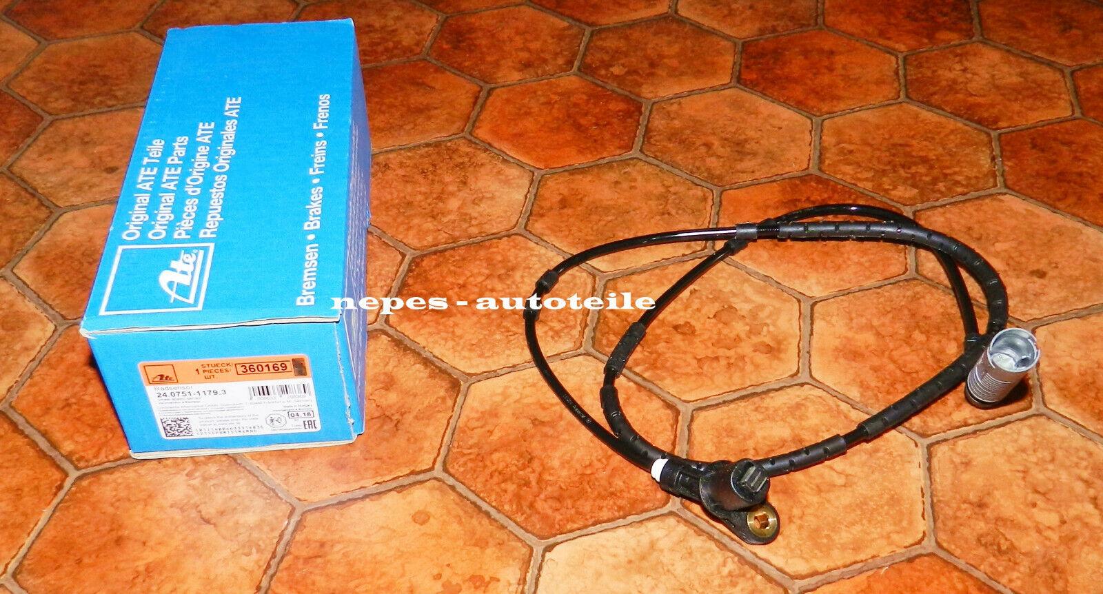 ABS Radsensor Drehzahlsensor Sensor Raddrehzahl hinten links//rechts NK 291515