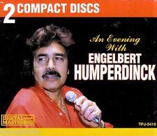 ENGELBERT HUMPERDINCK An Evening With 2CD Box Classic 70s Pop aNTHOLOGY Greatest