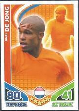 TOPPS MATCH ATTAX WORLD CUP 2010-HOLLAND-NIGEL DE JONG