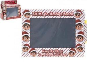 Vilain-ELF-Magic-Ardoise-Message-Board-Elfes-BEHAVIN-039-mal-sur-l-039-etagere