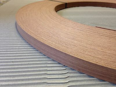 American White Oak Unglued Wood Veneer Edging 1mm Thick x22mm x 100m Edgebanding