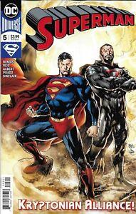 Superman-Comic-Issue-5-Modern-Age-First-Print-2019-Bendis-Reis-Albert-Prado-DC