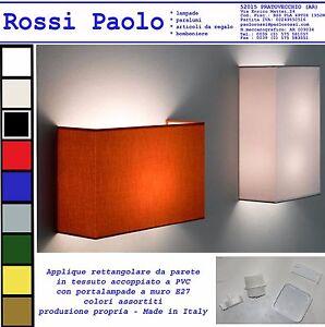 Applique-lampada-da-muro-parete-ventola-rettangolare-produzione-propria