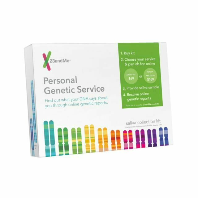 23andMe Personal Genetic Service Ancestry Health DNA Test Sa