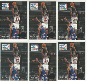 6-Card-Lot-1993-Skybox-Michael-Jordan-Chicago-Bulls-14-HOF