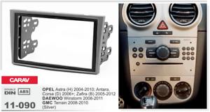 CARAV-11-090-2Din-Marco-Adaptador-OPEL-Astra-H-Corsa-D-Zafira-B-Antara