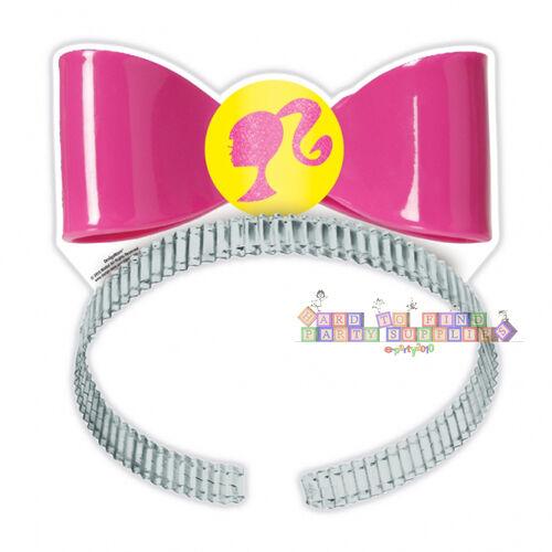 8 BARBIE Sparkle PAPER TIARAS ~ Birthday Party Supplies Decorations Favors
