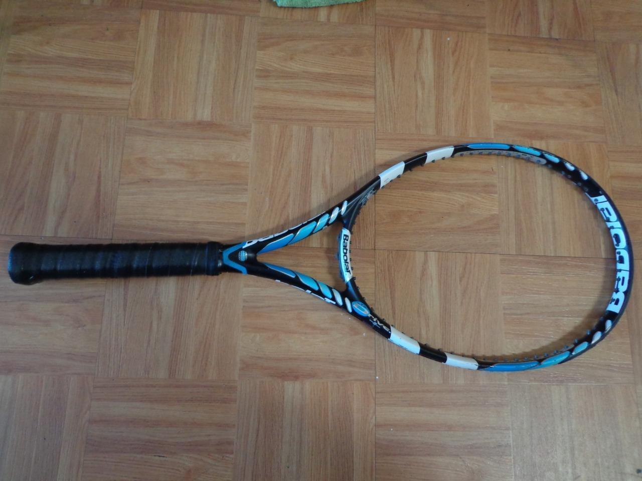 Babolat Pure Drive Plus 27.5 Cortex 100 cabeza 10.6oz 4 1 4 Grip Tenis Raqueta