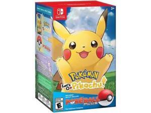 Pokemon: Lets Go, Pikachu! + Poke Ball Plus Pack - Nintendo Switch