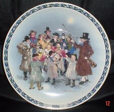 Wedgwood Collectors Plate THE CAROLERS 1986 Christmas