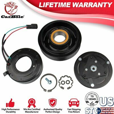 AC A//C Compressor Clutch Pulley Bearing For Nissan Altima Sentra SL 2.5L 07-12