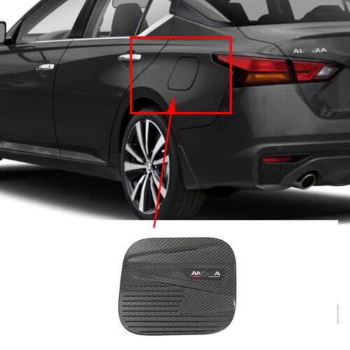 For Nissan Altima Teana 19-2020 ABS Carbon Fiber Fuel Filler tank Gas Cap Trim