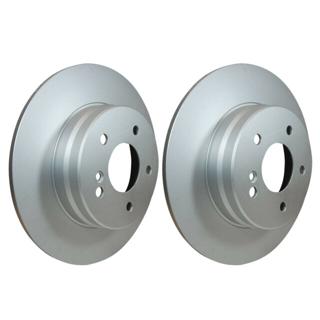 Rear Brake Discs 290mm 52139PRO fits Mercedes C-CLASS W203 C 240 C 320 C 280