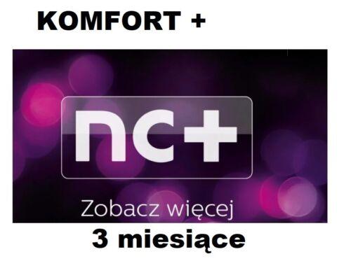 TVN Turbo KOMFOR Doladowanie TnK NC 3M Telewizja na karte Aufladung Canal