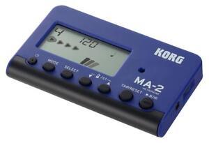 Korg-MA-2-BLBK-Metronom-Orchester-Musiker-Timer-Sound-Modi-Takt-Rhythmus-Display