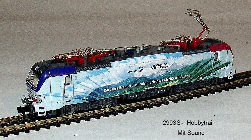 HOBBYTRAI 2993 S - Electric Locomotive -br193 Vectron- 150 Years Brennerbahn