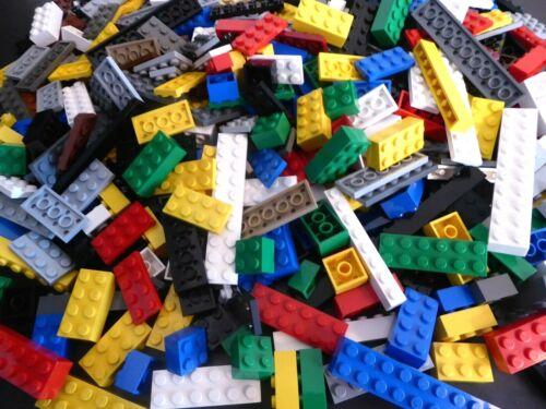 LEGO ca 300 Basic Steine Mix Grundbausteine Classic Set hoch bunt Dach Dächer