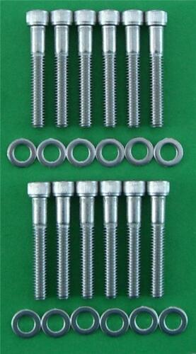 FORD 289-302 Collettore di aspirazione tappo testa kit in acciaio inox