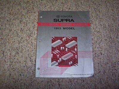 1993    Toyota       Supra    Electrical Wiring    Diagram       Manual    2JZ MK4