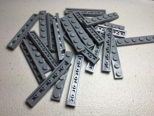DARK BLUISH GRAY 3666 NEW LEGO 1x6 PLATES LOT OF 25 PLATES AUTHENTIC LEGO