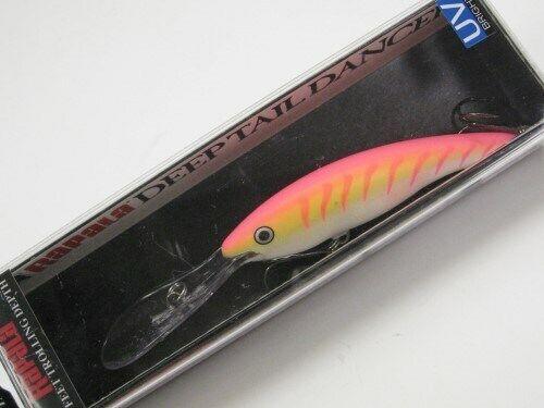 Walleye//Bass//Pike//Zander Rapala Deep Tail Dancer TDD09 PTU in PINK TIGER UV