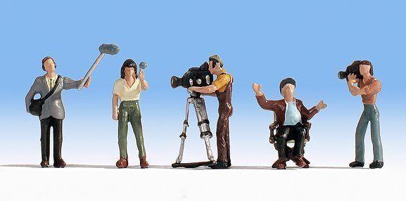 Figurines Noch H0 (15573): Kamera-Team