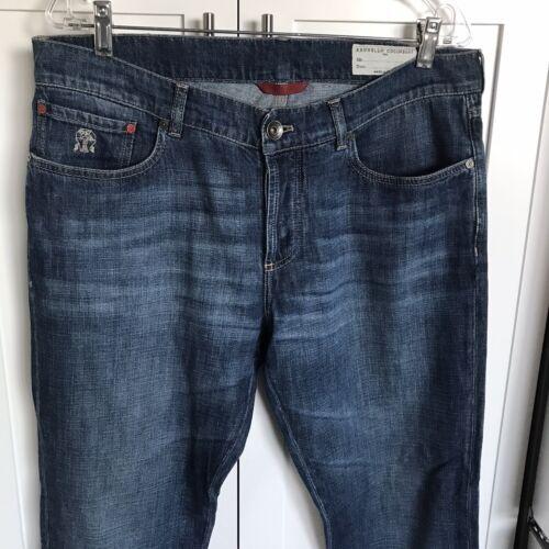 Brunello Cucinelli Men's Denim Jeans 36