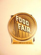 Vintage advertising promotion: Food Fair grocery store sewing needles -some used