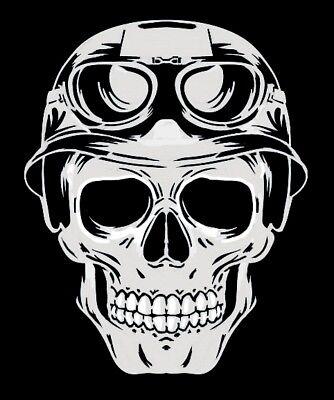 high detail airbrush stencil helmet  skull   FREE UK  POSTAGE