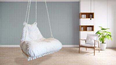 New Hanging Chair Indoor Hammock Bedroom Swing Outdoor Seat Bean Bag Ebay