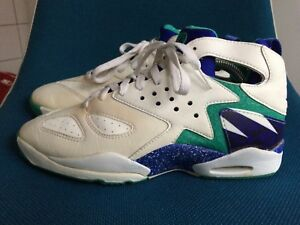 on sale e1eaf 086a6 Image is loading NIKE-Air-Tech-Challenge-Huarache-AGASSI-Sneakers-92-