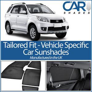 Car Window Sun Blinds Privacy UV Shades Daihatsu Terios 5 Door 2006 on