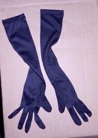 Black Nylon Elbow Length Gloves Child/adult Sizes Dance Theatrical Prom