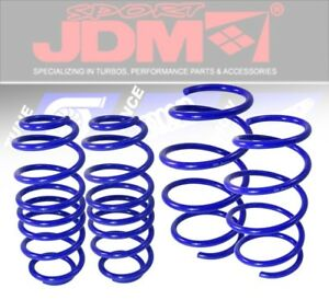 JDM-SPORT-90-97-HONDA-ACCORD-SUSPENSION-LOWER-LOWERING-DROP-SPRING-COIL-KIT-BLUE