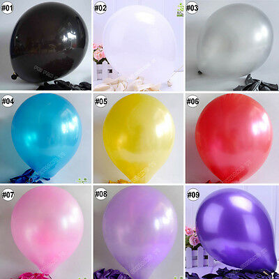 "5/20/50/100pcs mixed colors latex balloons party wedding Ø30cm12"" high quality"