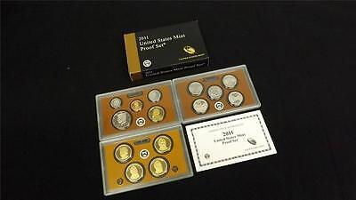 2011 S US Mint Proof 14 Coin Set
