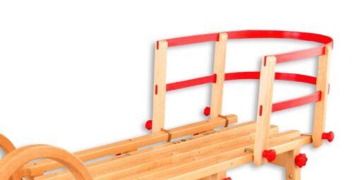 2401 Lehne Rückenlehne für Klappschlitten Schlittenlehne Holzschlitten Rodel