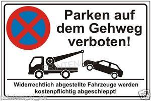 parkplatz parkverbot schild hinwesschild parken auf dem. Black Bedroom Furniture Sets. Home Design Ideas