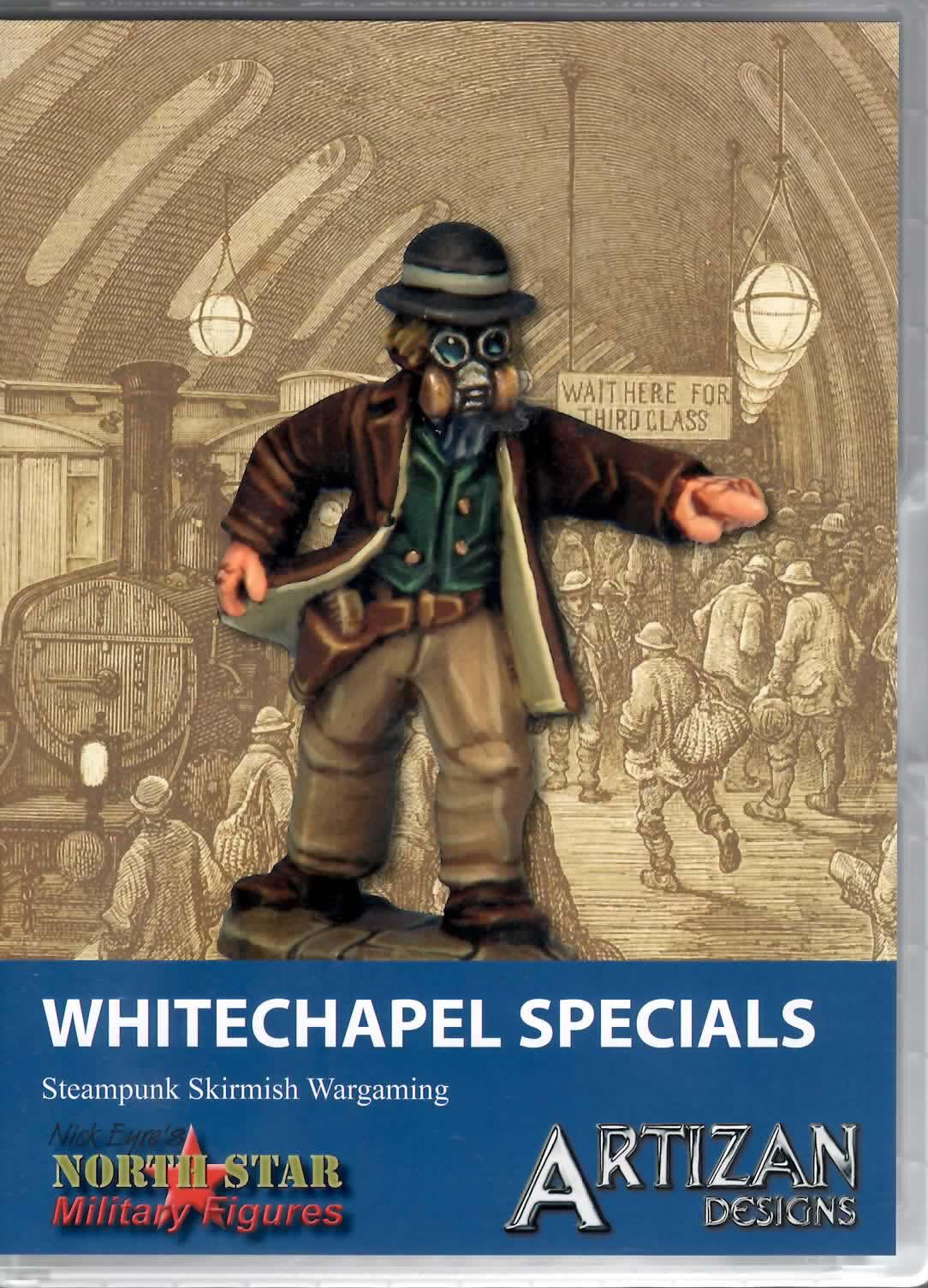 Artizan Designs 28mm Metal Steampunk Skirmish Whitechapel Specials (10)