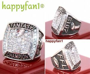 2019-Fantasy-Football-Championship-Ring-Season-League-Trophy-size-8-15-New