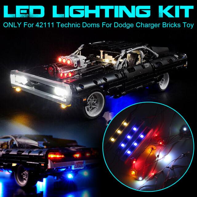 USB LED Light Lighting Kit For LEGO 42111 Technic Doms For Dodge Charger Bricks