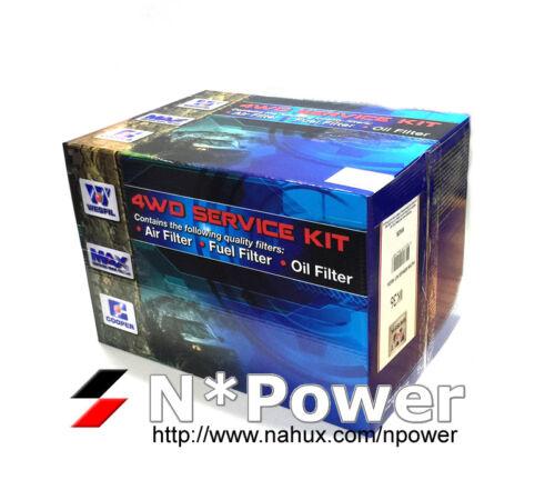 WESFIL 4WD AIR OIL FUEL FILTER SERVICE KIT FOR Isuzu D-Max 3.0L 4JJ1-TC 06//12-on