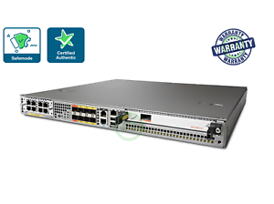Cisco-ASR1001-X-ASR1001X-5G-K9-6-GE-4GB-DRAM-2-ASR1002-PWR-AC-L-SLASR1-AES