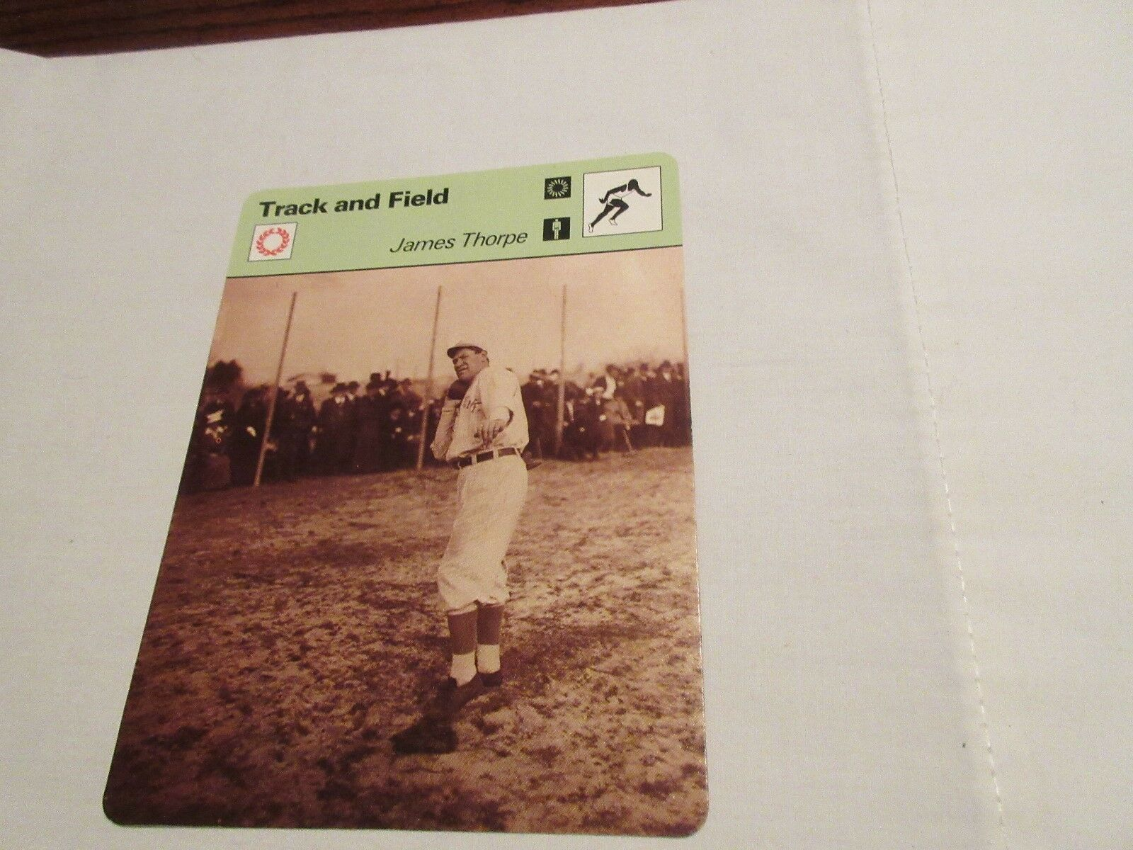 Sportscaster Cards ,1978 , Deck # 44 , Cards # 1-24 , F