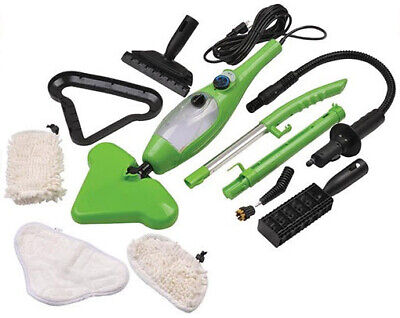 5 in 1 Steam Mop X5 Multi Functional Steamer Use H2O Water Cleaner Kitchen AU
