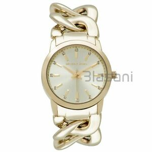 Michael kors original mk3608 womens elena chain gold stainless image is loading michael kors original mk3608 women 039 s elena gumiabroncs Choice Image